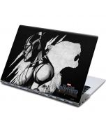 Black Panther African King Yoga 910 2-in-1 14in Touch-Screen Skin