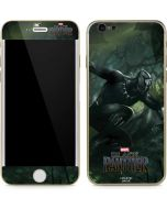 Black Panther In Action iPhone 6/6s Skin