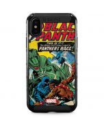 Black Panther Jungle Action iPhone XS Max Cargo Case