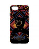 Black Panther Tribal Print iPhone 8 Pro Case