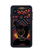 Black Panther Tribal Print iPhone X Waterproof Case