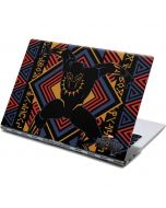 Black Panther Tribal Print Yoga 910 2-in-1 14in Touch-Screen Skin