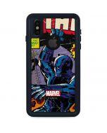 Black Panther vs Six Million Year Man iPhone X Waterproof Case