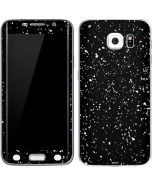 Black Speckle Galaxy S6 Edge Skin