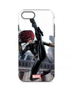 Black Widow High Kick iPhone 8 Pro Case