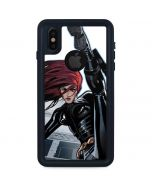 Black Widow High Kick iPhone XS Waterproof Case