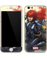 Black Widow in Action iPhone 6/6s Skin