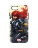 Black Widow in Action iPhone 8 Pro Case
