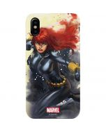 Black Widow in Action iPhone XS Max Lite Case
