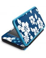 Blue and White 2DS XL (2017) Skin