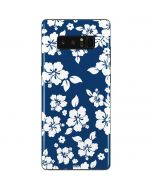 Blue and White Galaxy Note 8 Skin
