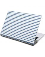 Blue and White Stripes Yoga 910 2-in-1 14in Touch-Screen Skin