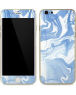 Blue Marbling iPhone 6/6s Skin