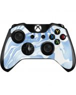 Blue Marbling Xbox One Controller Skin