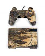 Blue Resin Wood PlayStation Classic Bundle Skin