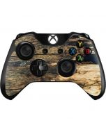 Blue Resin Wood Xbox One Controller Skin