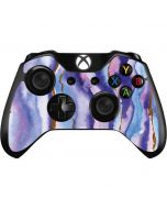 Blue Violet Watercolor Geode Xbox One Controller Skin