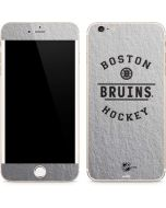 Boston Bruins Black Text iPhone 6/6s Plus Skin