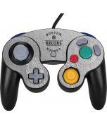 Boston Bruins Black Text Nintendo GameCube Controller Skin
