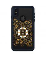 Boston Bruins Blast iPhone X Waterproof Case