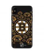 Boston Bruins Blast iPhone XS Skin