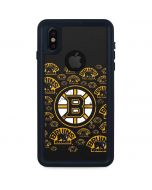 Boston Bruins Blast iPhone XS Waterproof Case
