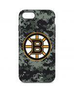 Boston Bruins Camo iPhone 8 Pro Case