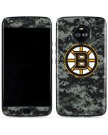 Boston Bruins Camo Moto X4 Skin