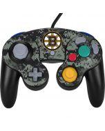 Boston Bruins Camo Nintendo GameCube Controller Skin