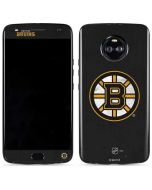 Boston Bruins Distressed Moto X4 Skin