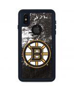 Boston Bruins Frozen iPhone X Waterproof Case