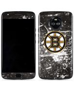 Boston Bruins Frozen Moto X4 Skin