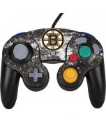 Boston Bruins Frozen Nintendo GameCube Controller Skin