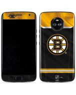 Boston Bruins Home Jersey Moto X4 Skin