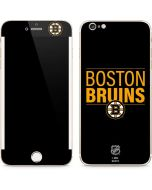 Boston Bruins Lineup iPhone 6/6s Plus Skin