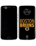 Boston Bruins Lineup Moto X4 Skin