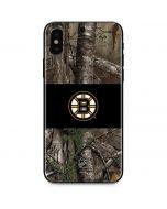 Boston Bruins Realtree Xtra Camo iPhone XS Skin