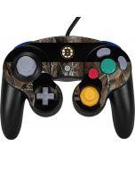 Boston Bruins Realtree Xtra Camo Nintendo GameCube Controller Skin