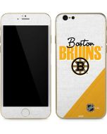 Boston Bruins Script iPhone 6/6s Skin