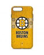 Boston Bruins Vintage iPhone 7 Plus Pro Case