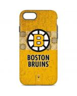 Boston Bruins Vintage iPhone 8 Pro Case