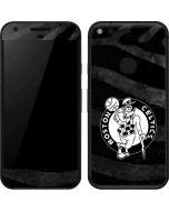 Boston Celtics Black Animal Print Google Pixel Skin
