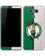 Boston Celtics Canvas LG G6 Skin