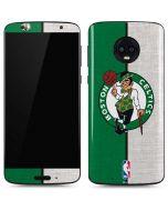 Boston Celtics Canvas Moto G6 Skin
