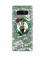 Boston Celtics Digi Camo Galaxy Note 8 Skin
