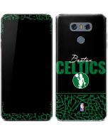 Boston Celtics Elephant Print LG G6 Skin