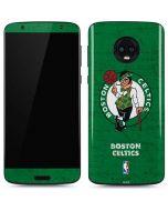 Boston Celtics Green Primary Logo Moto G6 Skin