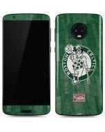 Boston Celtics Hardwood Classics Moto G6 Skin