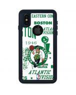 Boston Celtics Historic Blast iPhone X Waterproof Case
