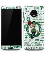 Boston Celtics Historic Blast Moto G6 Skin